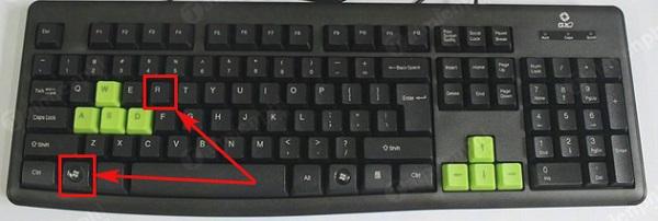 Nhấn tổ hợp phím Windows + R