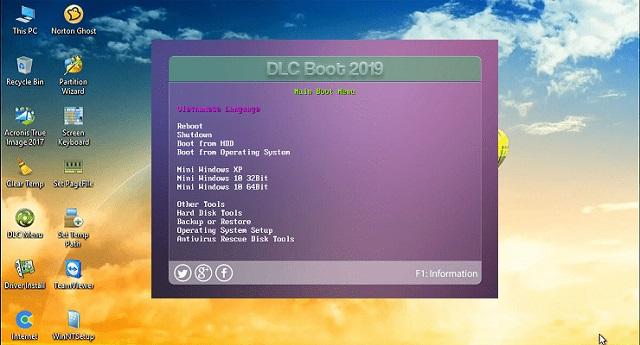 Tải phần mềm DLC Boot 2019