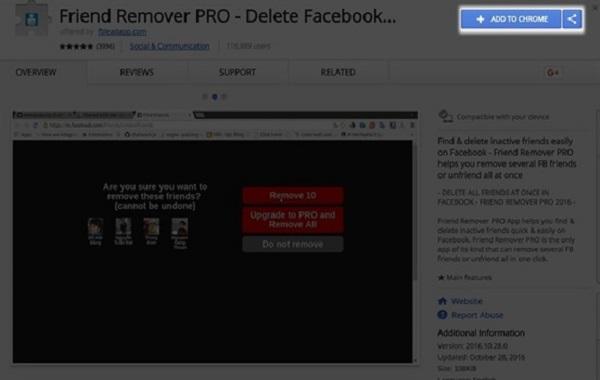 Bước 1: Tải ứng dụng extension Remover Pro về máy tính và khởi động
