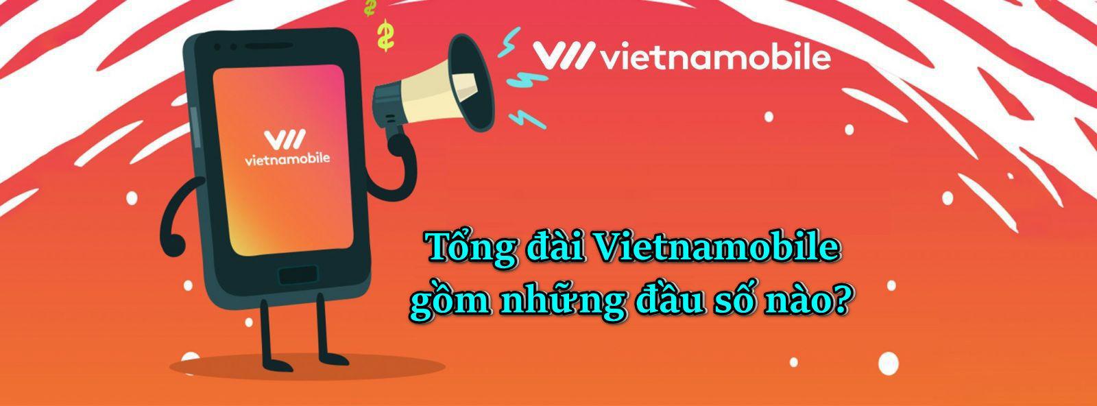 Tổng đài hỗ trợ Vietnamobile