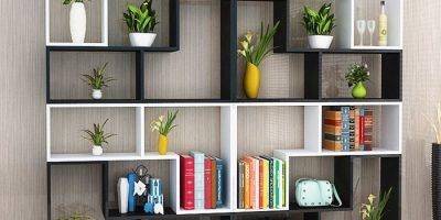 Tủ kệ trang trí cho văn phòng có nhiều kiểu dáng cho bạn lựa chọn