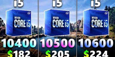 Tại sao Intel lại cho ra mắt đến 3 dòng i5-10400, i5-10500, i5-10600?