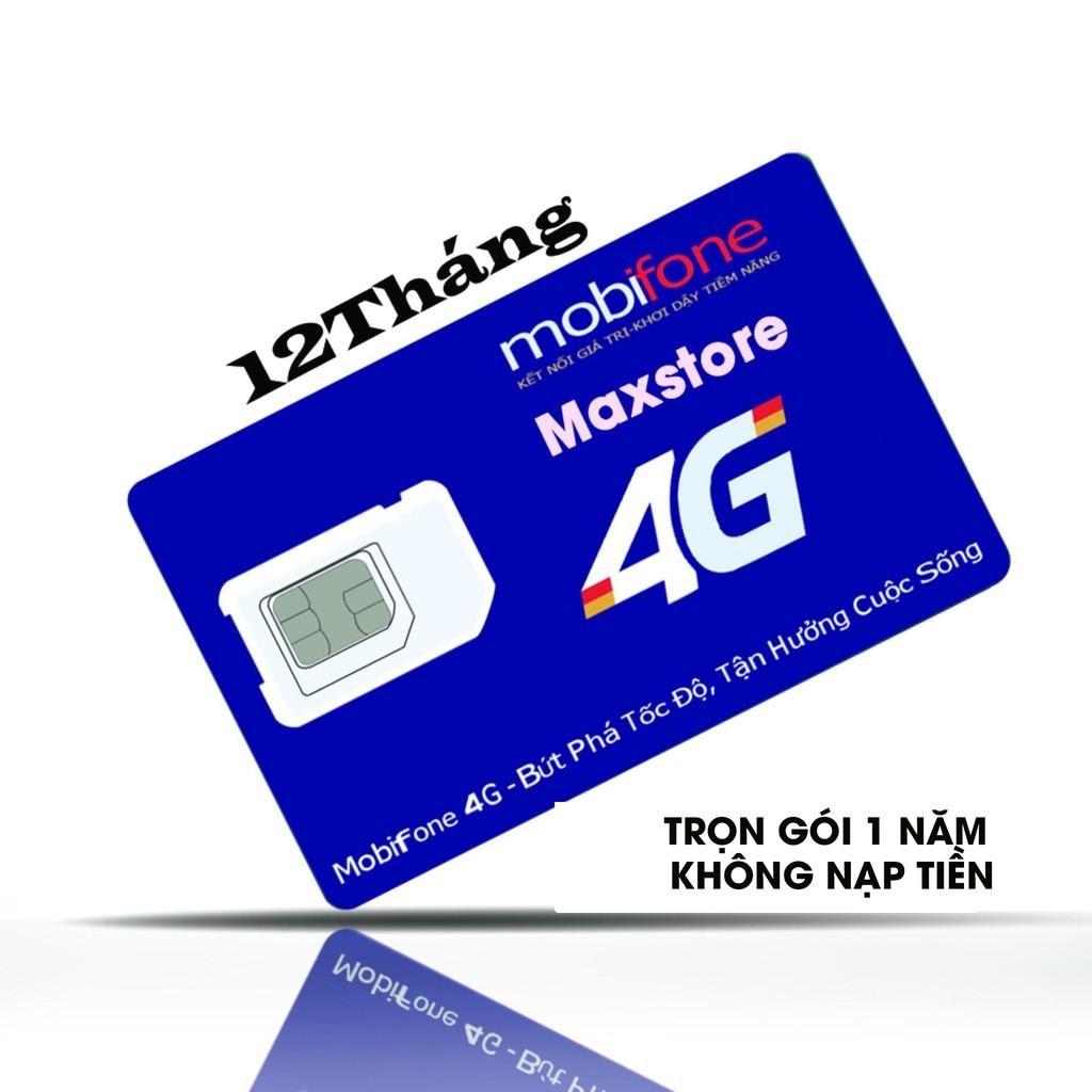 Sim 4G Mobifone 1 năm không nạp tiền là loại sim chỉ dùng cho việc truy cập vào mạng Internet