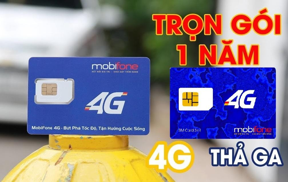 MDT250A, MDT120A, F500, F500N - Sim 4G Mobifone trọn gói 1 năm, thả ga 4G