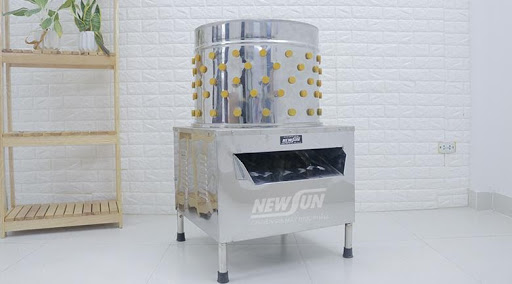 Một chiếc máy vặt lông gà vịt của NEWSUN