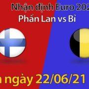 Trận đấu giữa Phần Lan vs Bỉ