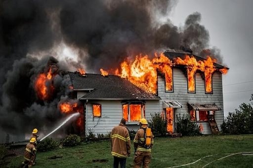 Giải mã giấc mơ thấy cháy nhà